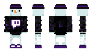 Minecraft skin, nicknamed LeVyOfficial