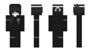 The nickname of the Minecraft skin uchy